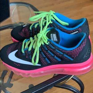 Girls size 4.5 youth Nike AirMax 2016